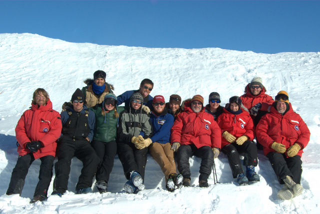 Ice Core handlers group shot